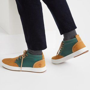 Timberland Davis Square High Top Chukka Shoes